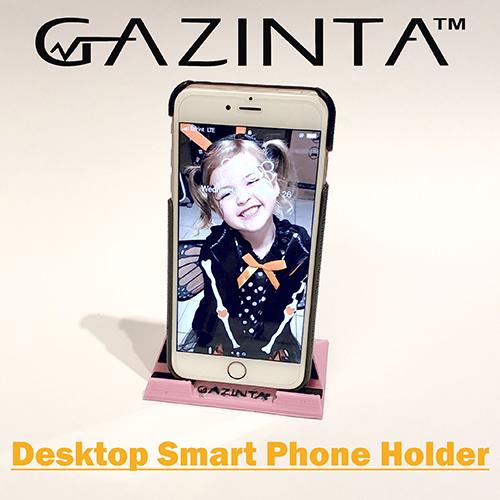 Gazinta - Desktop Smart Phone Holder, Portrait Mode