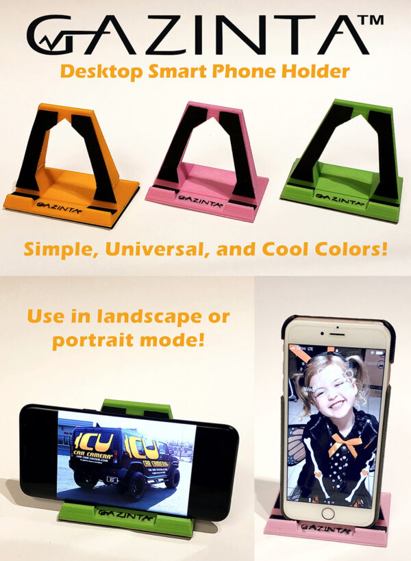 Gazinta - Desktop Smart Phone Holder, universal fit