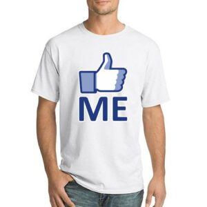 """LIKE ME"" Men's T-shirts by AR Talking Shirts"
