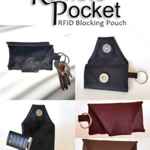 Remote Pocket RFID Blocking Pouch for Smart Key Remote Controls